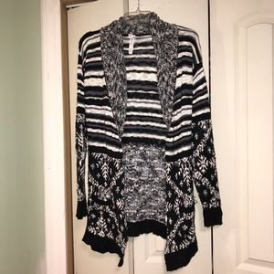 Bethany Mota knitted long cardigan